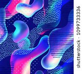 abstract curve shape background ... | Shutterstock . vector #1099733336