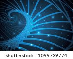 technology abstract stripe... | Shutterstock .eps vector #1099739774