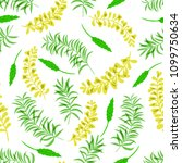 seamless pattern with a... | Shutterstock .eps vector #1099750634