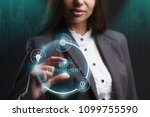 the concept of business ... | Shutterstock . vector #1099755590