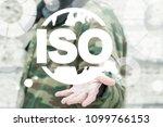 iso military standards. armed...   Shutterstock . vector #1099766153