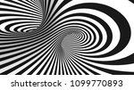 vector optical illusion black... | Shutterstock .eps vector #1099770893