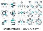 business data visualization.... | Shutterstock .eps vector #1099775594