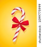 tasty lollipop with bow for... | Shutterstock .eps vector #1099775999