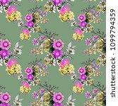 watercolor seamless pattern... | Shutterstock . vector #1099794359