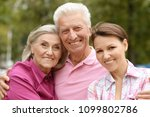 happy family portrait  | Shutterstock . vector #1099802786