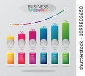 information graphic or... | Shutterstock .eps vector #1099803650