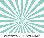 blue sunburst pattern... | Shutterstock .eps vector #1099813664