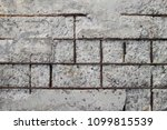 texture of old gray concrete... | Shutterstock . vector #1099815539