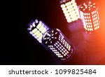 led elements in the lamp. lamps ...   Shutterstock . vector #1099825484