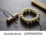 different objects with... | Shutterstock . vector #1099840904