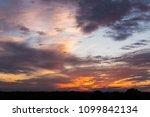 plane ascending among sumptuous ...   Shutterstock . vector #1099842134