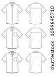 top shirt fashion vector...   Shutterstock .eps vector #1099845710
