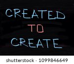 created to create  | Shutterstock . vector #1099846649