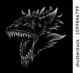 The Vector Logo Dragon For T...