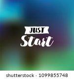 just start. anti... | Shutterstock .eps vector #1099855748
