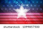 independence day of usa vector...   Shutterstock .eps vector #1099857500