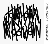 street art graffiti calligraphy ... | Shutterstock .eps vector #1099877510