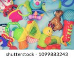 toys for baby  background | Shutterstock . vector #1099883243