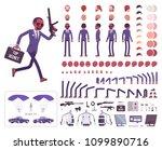 secret agent black man ...   Shutterstock .eps vector #1099890716