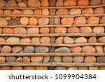 houses with stone walls  ... | Shutterstock . vector #1099904384
