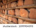 houses with stone walls  ... | Shutterstock . vector #1099904393