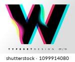 vector typeset design. neon... | Shutterstock .eps vector #1099914080