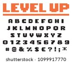 square pixel game font perefect ...