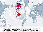 world map centered on america... | Shutterstock .eps vector #1099929608