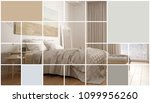 geometric square mosaic graphic ... | Shutterstock . vector #1099956260