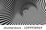 vector optical illusion black... | Shutterstock .eps vector #1099958969