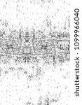 grunge black and white pattern. ...   Shutterstock . vector #1099966040