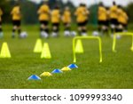 young players at the football... | Shutterstock . vector #1099993340