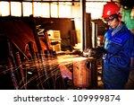 an industrial background.... | Shutterstock . vector #109999874