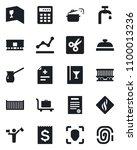set of vector isolated black... | Shutterstock .eps vector #1100013236