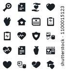 set of vector isolated black... | Shutterstock .eps vector #1100015123