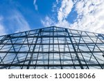 skyscraper business building... | Shutterstock . vector #1100018066