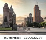syracuse  new york  usa. may 28 ... | Shutterstock . vector #1100033279