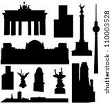 arquitectura,ilustración,globo,berlín,negro,brandeburgo,edificio,ciudad capital,cancillería,iglesia,ciudad,imágenes prediseñadas,torre de comunicaciones,componer,emperador