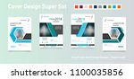 abstract composition. text... | Shutterstock .eps vector #1100035856