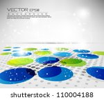 abstract vector design eps 10 | Shutterstock .eps vector #110004188