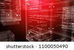 an innovative 3d illustration... | Shutterstock . vector #1100050490