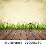 wood textured backgrounds in a... | Shutterstock . vector #110006150