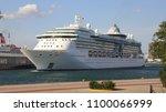 piraeus  greece  may 26  2018.... | Shutterstock . vector #1100066999