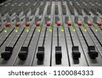 professional sound control panel | Shutterstock . vector #1100084333