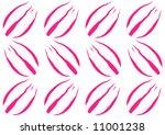 tulip flowerhead pattern | Shutterstock . vector #11001238