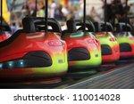 Bumper Cars In A Row