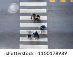 aerial photo top view of people ... | Shutterstock . vector #1100178989