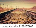 Vintage Railroad Horizontal...