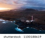 aerial view of the lighthouse... | Shutterstock . vector #1100188619